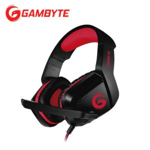 AUDIFONO GAMING GAMBYTE BLINK V BLACK/RED
